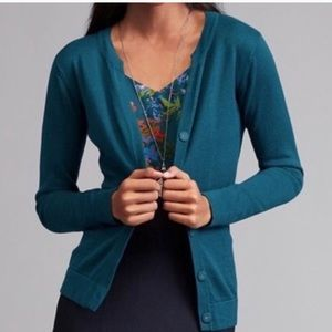 Cabi Teal Ever Cardigan Style #3368